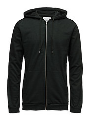 Enno zip hoodie 7057 - PINEGROVE MEL