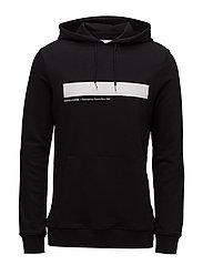 Rapp hoodie 10104 - BLACK