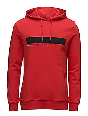 Rapp hoodie 10104 - HIGH RISK RED