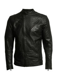 Bertels leather jacket  3042 - BLACK