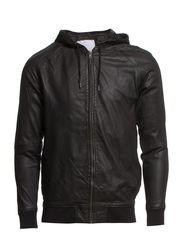 Klein zip hoodie 3954 - BLACK