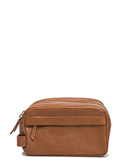 Mule wash bag 3338 - COGNAC