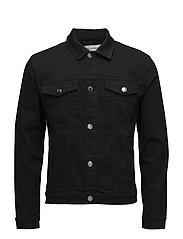 Laust jacket 8102 - BLACK RINSE