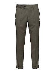 Laurent pants fold up 8197 - DUSTY OLIVE