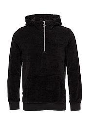 Alfonso hoodie 7930 - BLACK