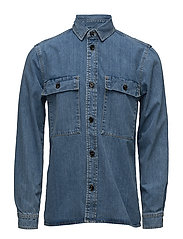 Waltones Overshirt 8178 - DENIM BLUE