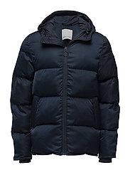 Minus hood jacket 9454 - DARK SAPPHIRE