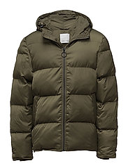 Minus hood jacket 9454 - IVY GREEN