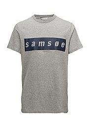 Samsoe o-n ss 2061 - GREY MEL.