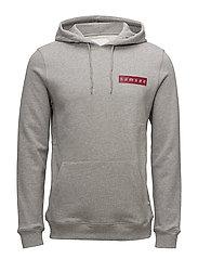 Samsoe hoodie 9461 - GREY MEL.