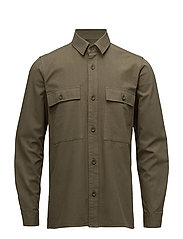 Waltones overshirt 9495 - IVY GREEN