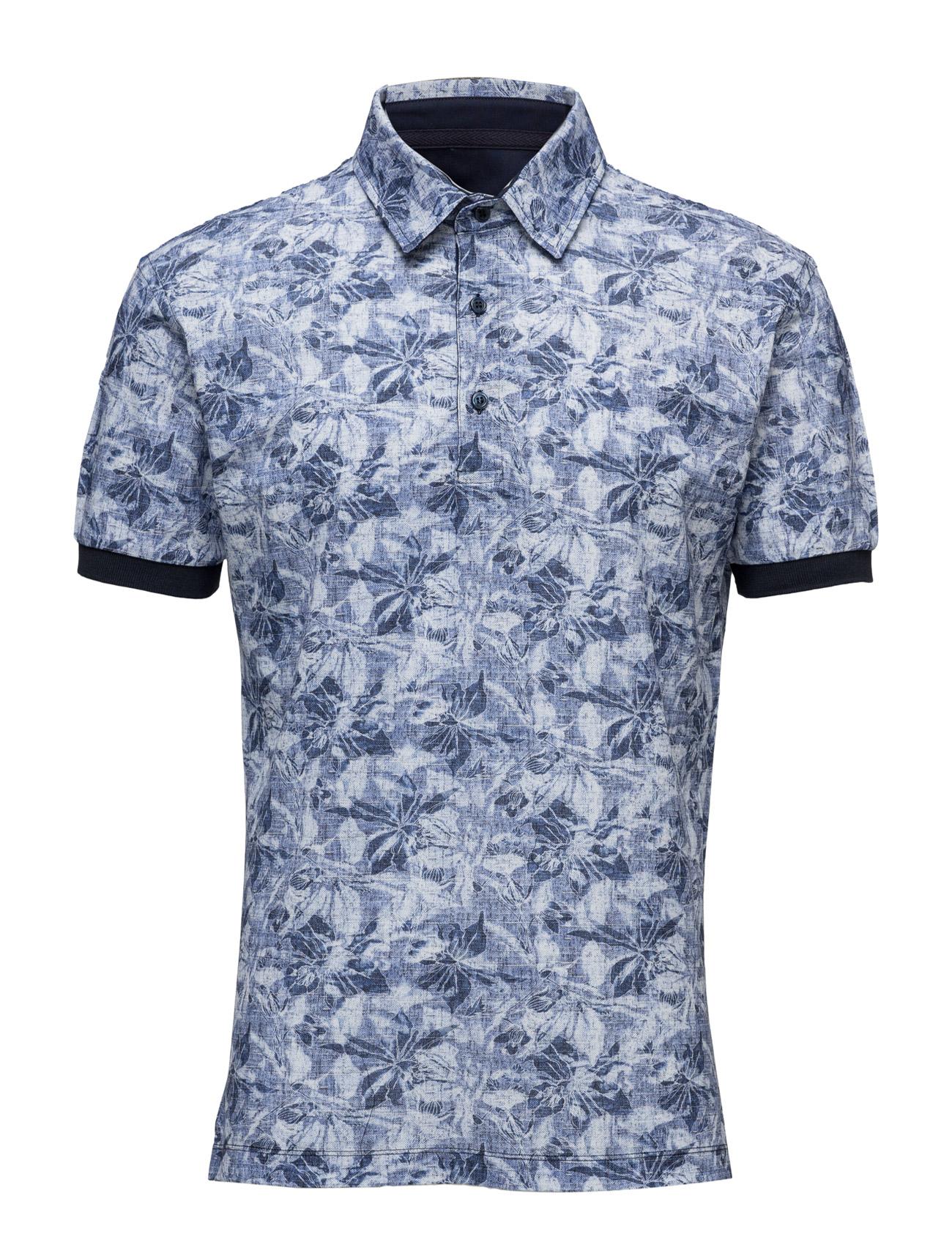 4854 - Denton S. SAND Kortærmede polo t-shirts til Herrer i Mønster