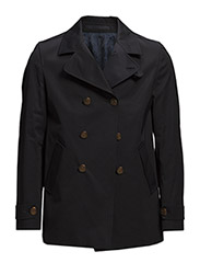 Techno Cotton Heavy - Short Peacoat - Dark Navy