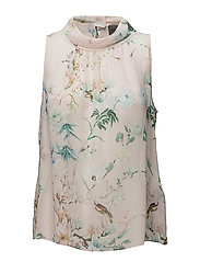 Nightingale - Prosa Top - PINK