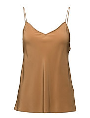 Crepe De Chine - Slip - LIGHT CAMEL