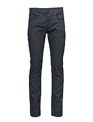 "Cashmere Cotton - Burton NS 34"" - MEDIUM BLUE"
