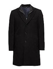 Cashmere Coat - Sultan Tech - BLACK