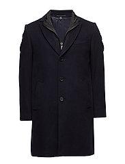 Cashmere Coat - Sultan Tech - MEDIUM BLUE