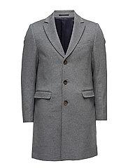 Cashmere Coat - Sultan New - MEDIUM GREY