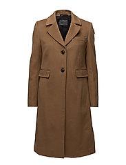 Cashmere Coat W - Limoni - LIGHT CAMEL