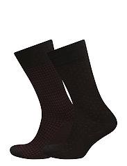 Socks 2 pck - Socks 2 pack - BLACK
