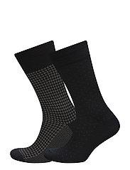 Socks 2 pck - Socks 2 pack - DARK BLUE/NAVY