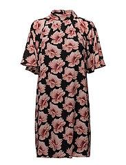 Rose Crepe - Prosa Sleeve Dress - PINK