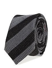 Ties 6 cm - T218 - BLACK
