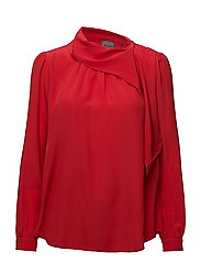 Crepe De Chine - Maura - RED