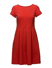 3596 - Norma Dress - MEDIUM RED