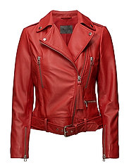 Soft Lamb Leather - Antille - RED