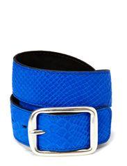 BELT - PYTON BLUE