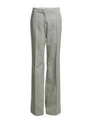 LOOK SHARP wide leg pants - silver shine