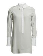 EXPLOSIVE blouse 1/1 - silver white