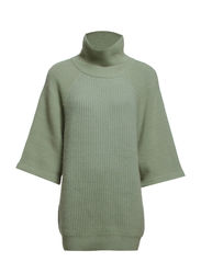 WELL-LOVED pullover 1/2 - pale peppermint