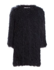 FUR REBEL coat 1/1 - inky blue