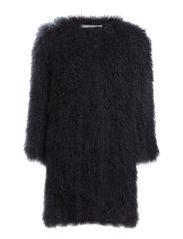 FUR REBEL coat 1/1 - inky blue