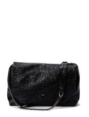 LUSTROUS shoulderbag - pure black