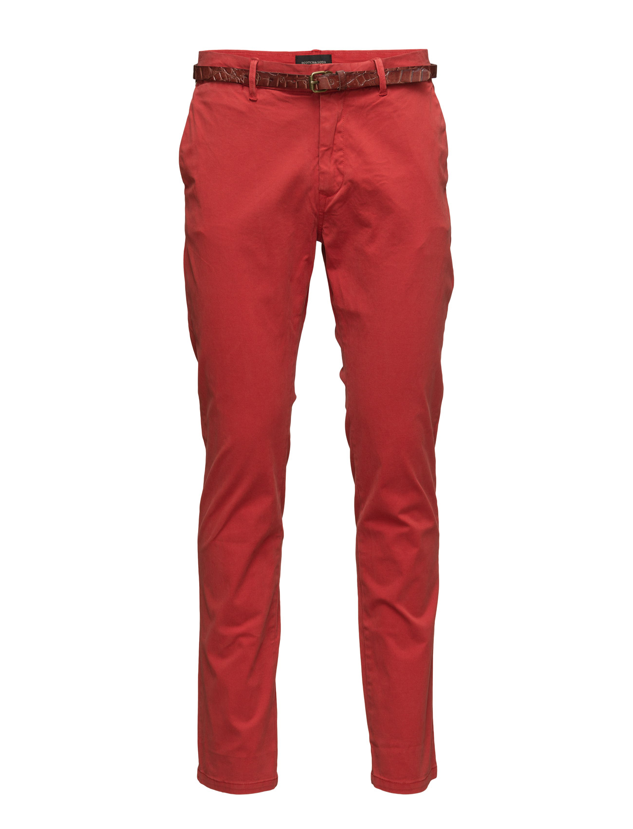 Garment Dyed Chino In Stretch Cotton Quality Scotch & Soda Chinos