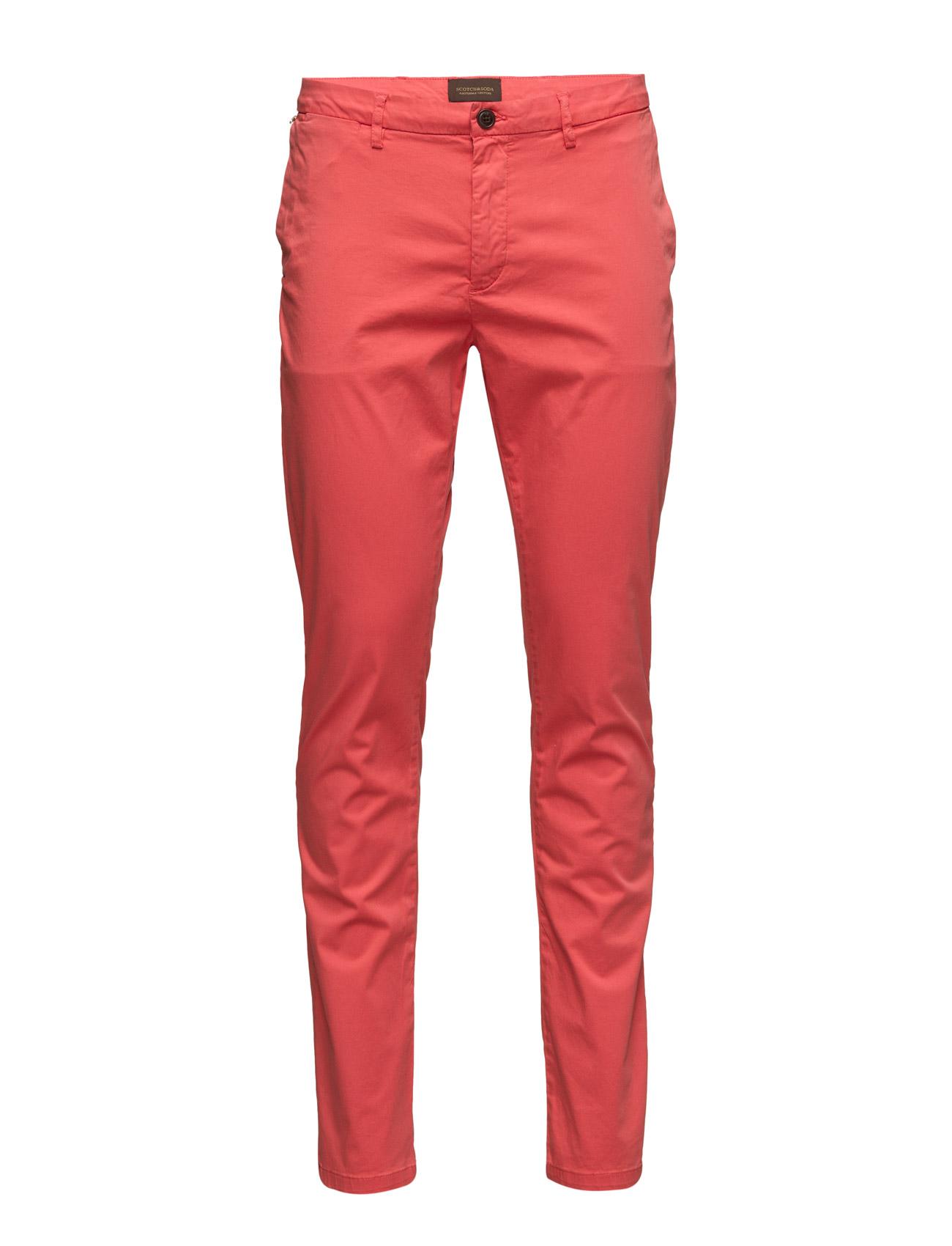 Garment Dyed Stretch Satine Chino Scotch & Soda Chinos til Mænd i