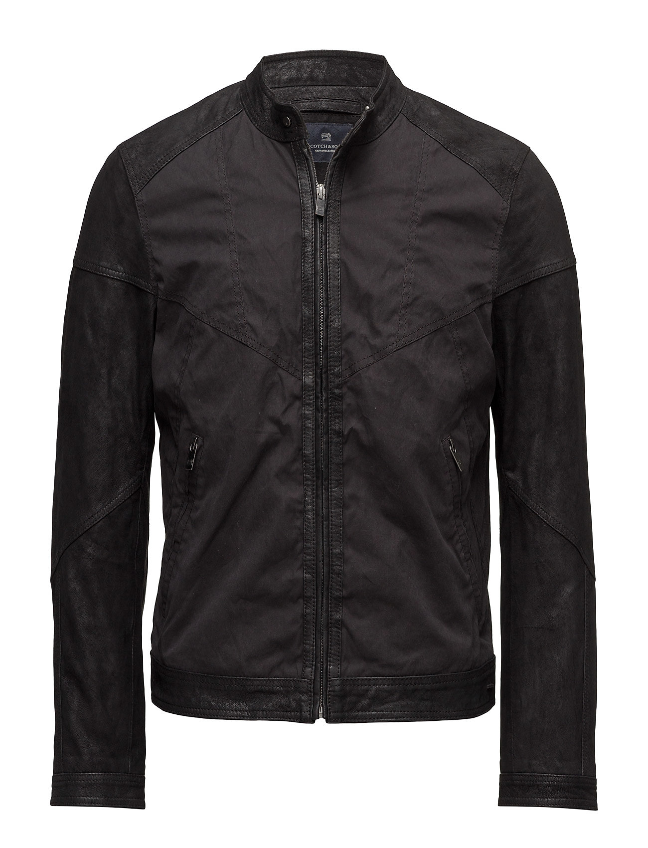 scotch & soda – Jacket in mix & match nylon/ leather fra boozt.com dk