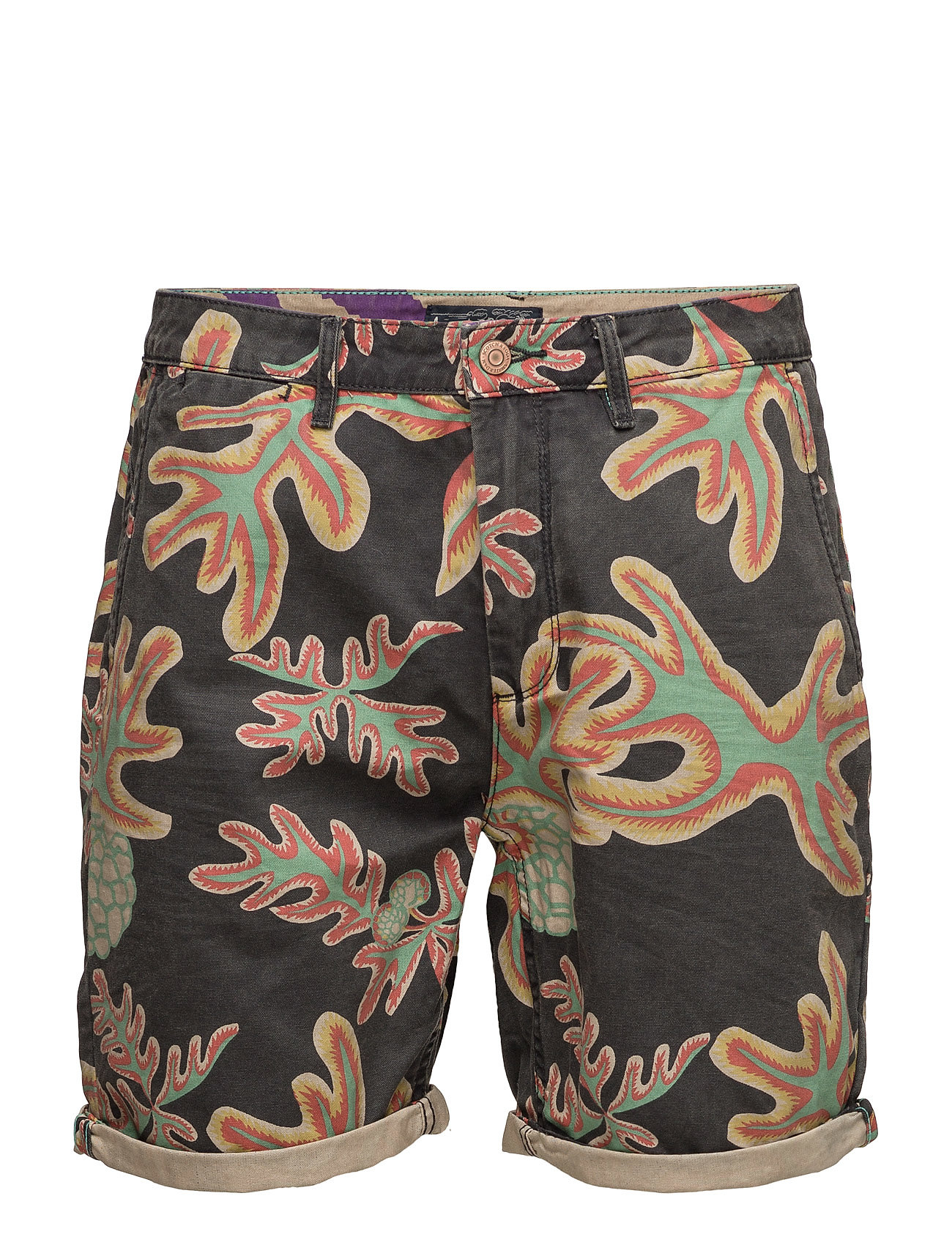 Short In Canvas With Heavy Spray Wash Outlook Scotch & Soda Bermuda shorts til Herrer i