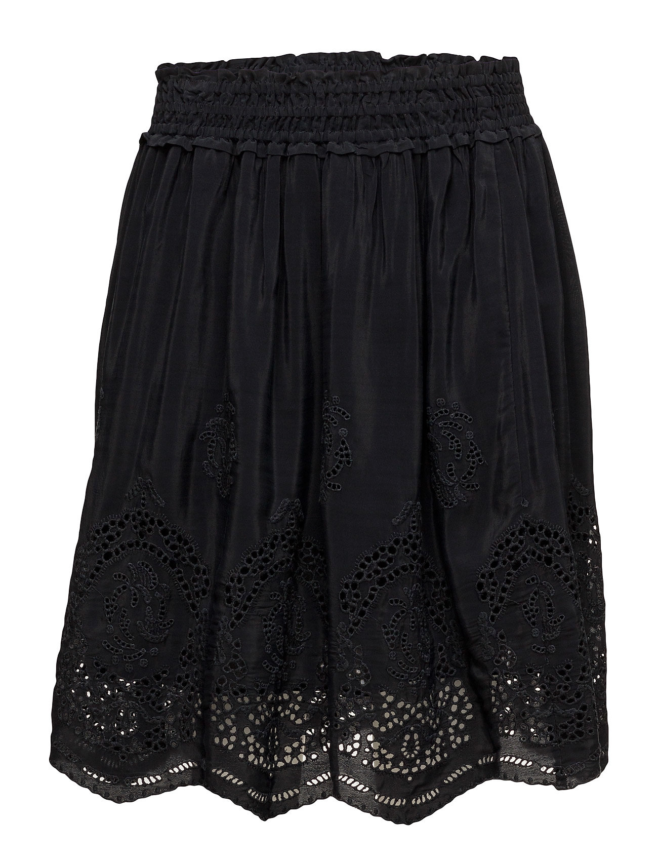 Scotch & Soda Viscose skirt with special cut out embroideries
