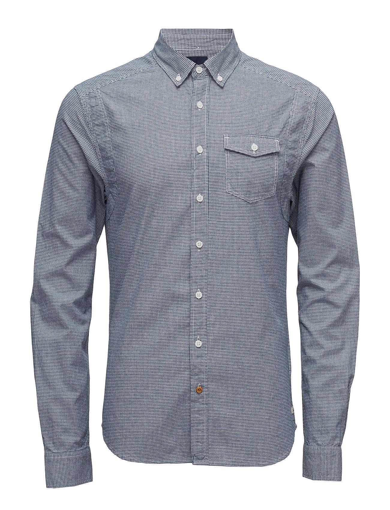 Lightweight Brushed Flannel Shirt With Workwear Elements Scotch & Soda Trøjer til Mænd i