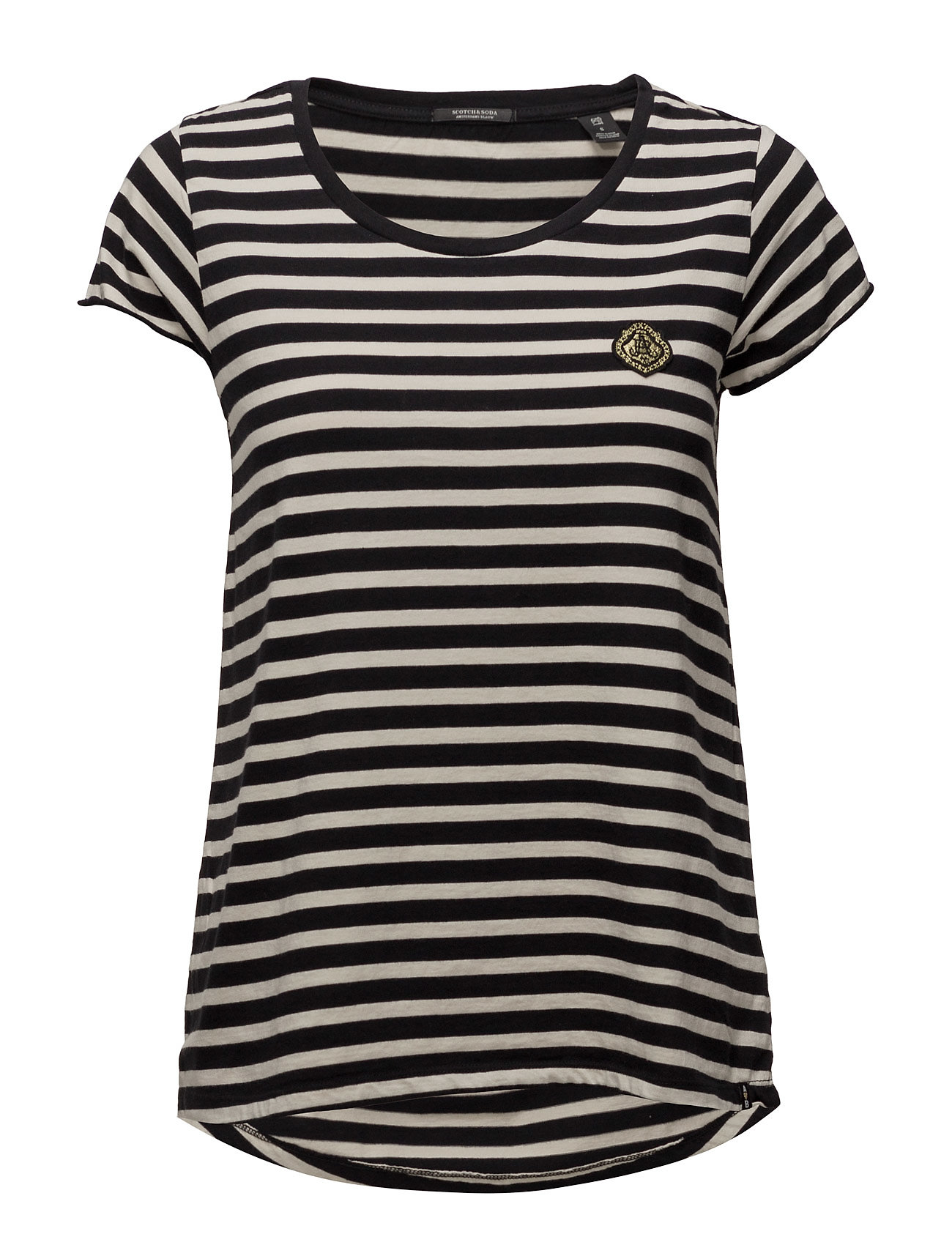 scotch & soda S/s tee in various stripes fra boozt.com dk