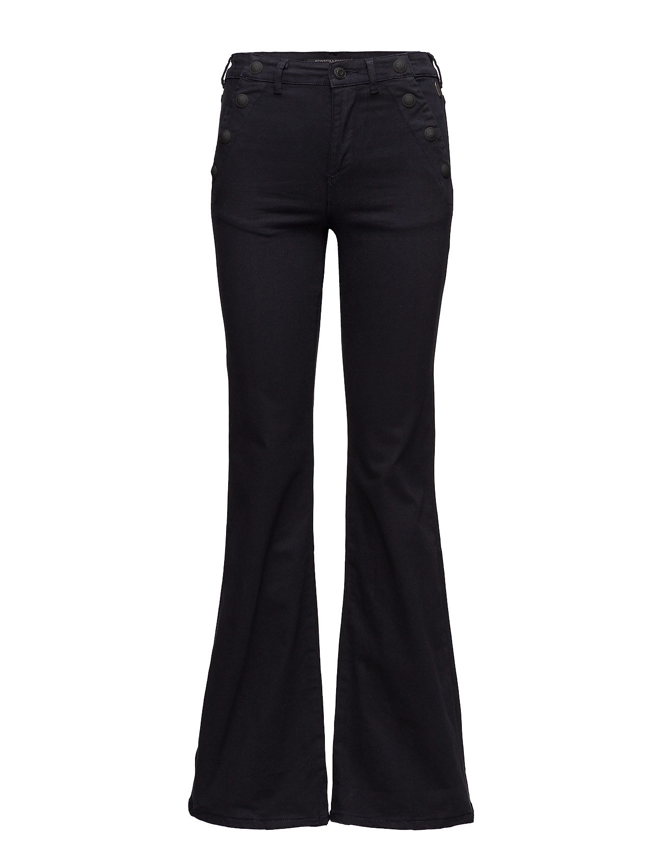 Seasonal Flare Leg Pant With Sailor Details Scotch & Soda  til Damer i