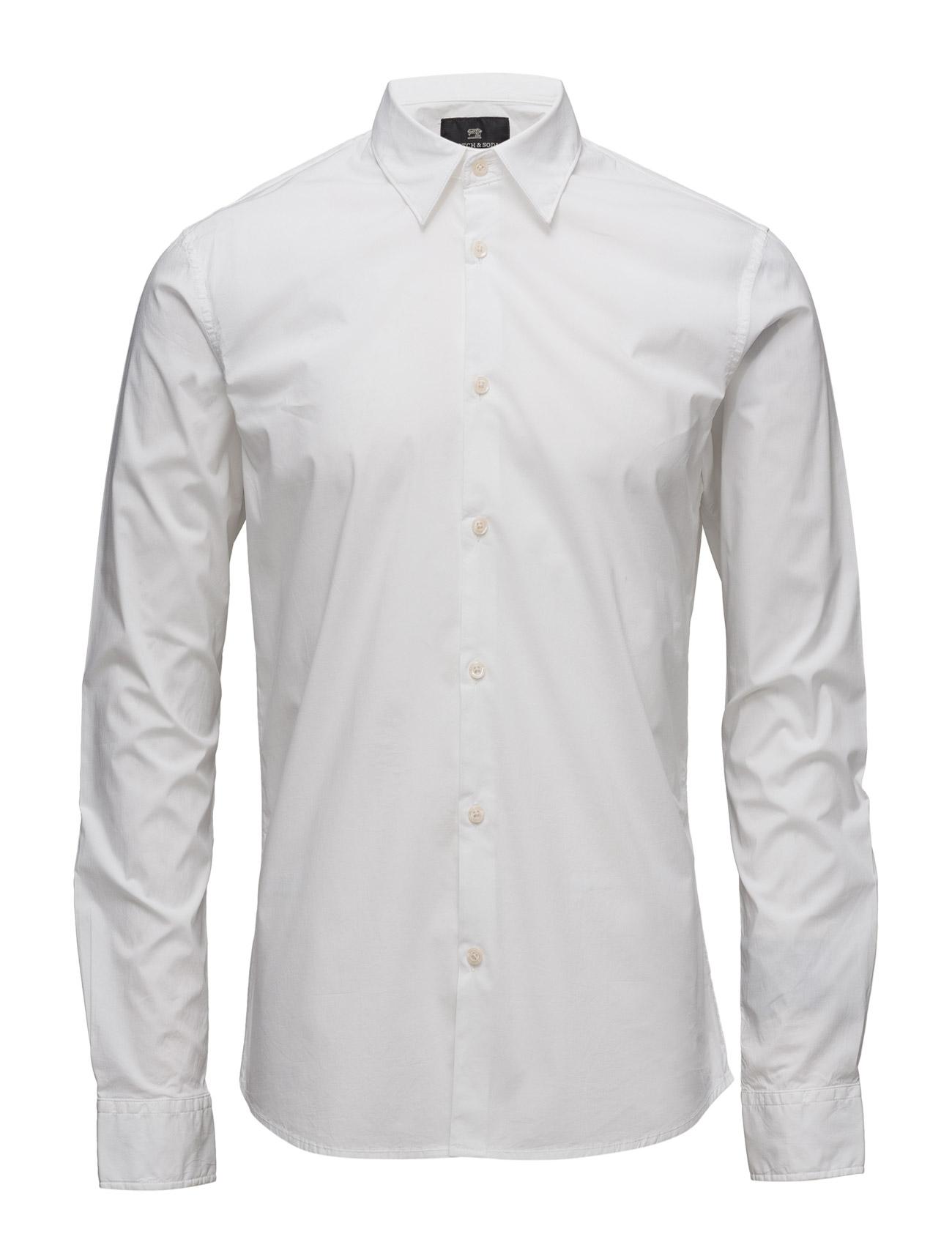 Nos - Classic Longsleeve Shirt Scotch & Soda Business til Mænd i