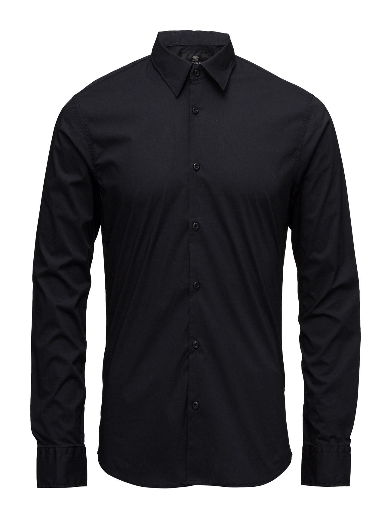 Nos - Classic Longsleeve Shirt Scotch & Soda Trøjer til Mænd i 58 Nat