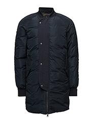 Long bomber jacket in memory nylon quality - 2 NIGHT