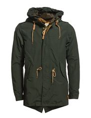 Scotch & Soda Long summer parka jacket